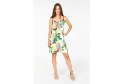 Jungle print dress van Senoretta Senoretta