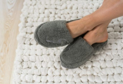 Cosy Bath Slippers S/M van Luin Living